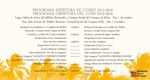 Programa  15-16